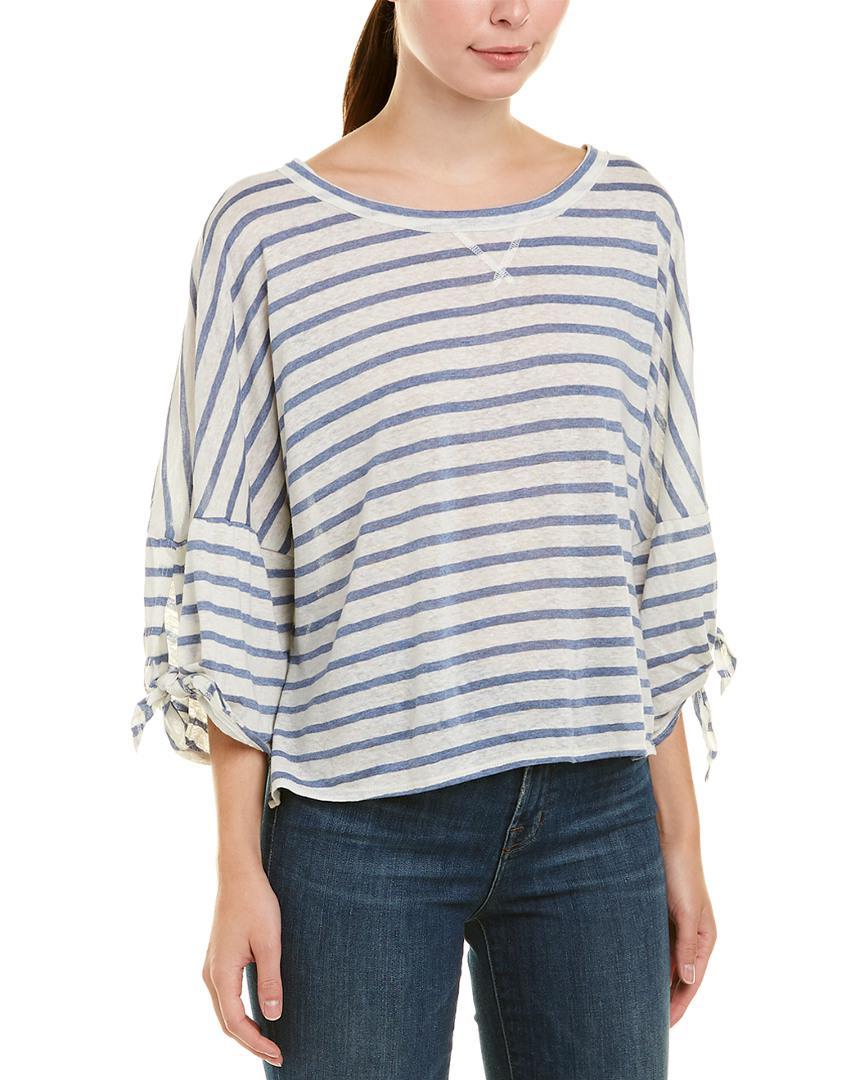 8ae6ecff0 Lyst - Splendid Dolman Sleeve T-shirt in White - Save 29%