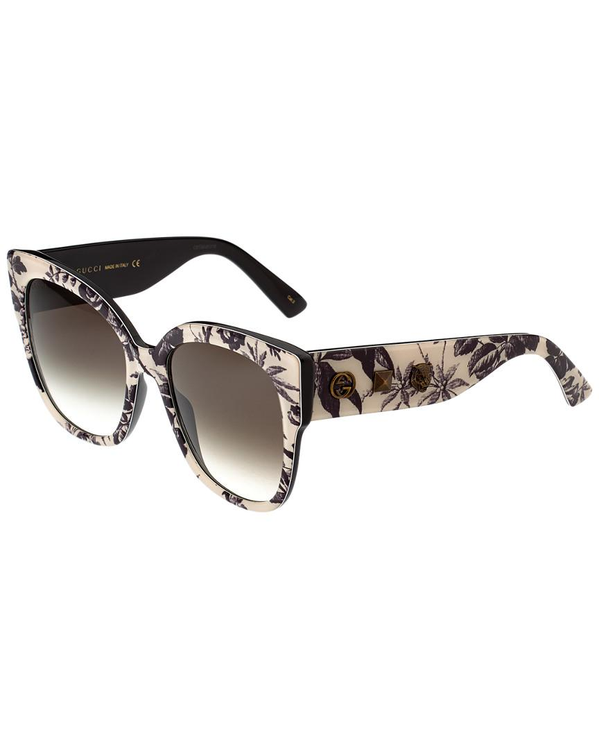 55f2a2b86e Gucci. Women s GG0059S-30001027004 55mm Sunglasses
