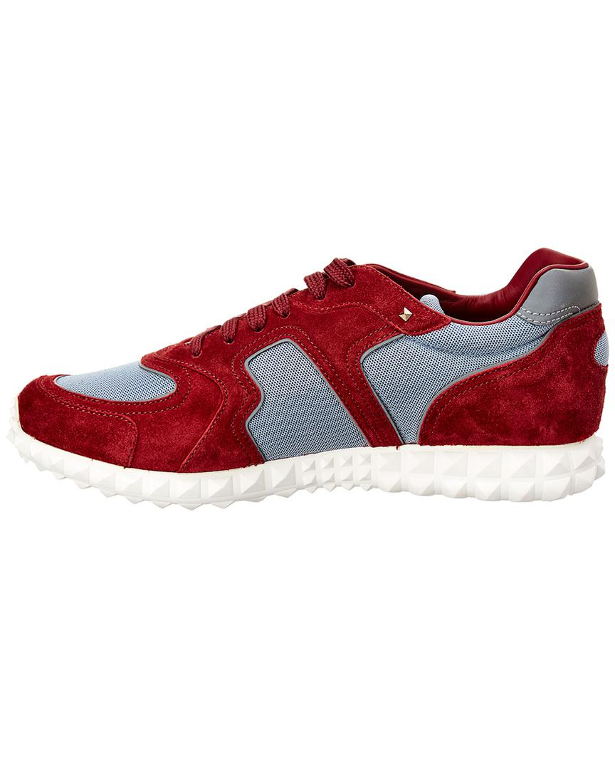 f12cd30e176f Valentino Low-tops   Sneakers in Red for Men - Save 63% - Lyst