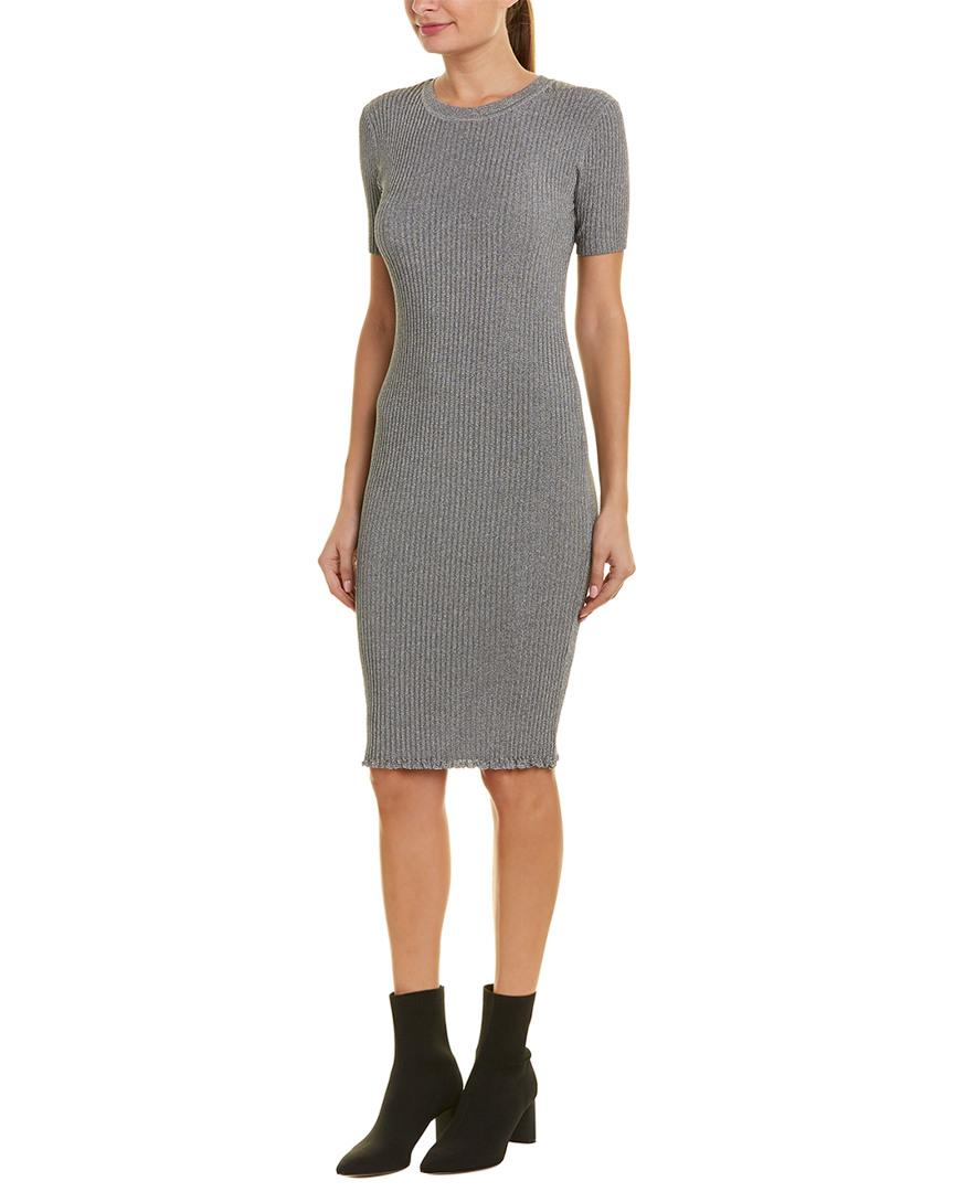 a793ceca33 Milly Ribbed Sweaterdress in Metallic - Save 1.5151515151515156% - Lyst