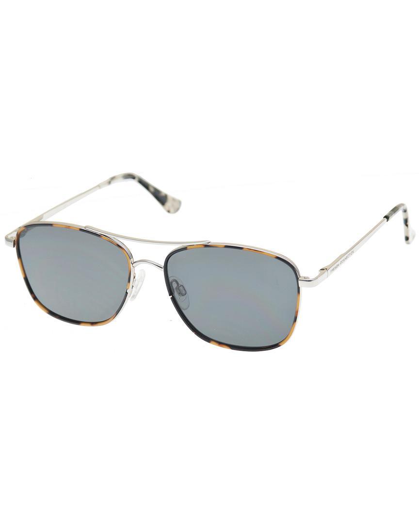 845c86ffa7 Lyst - French Connection 40045fcu040 55mm Sunglasses in Metallic