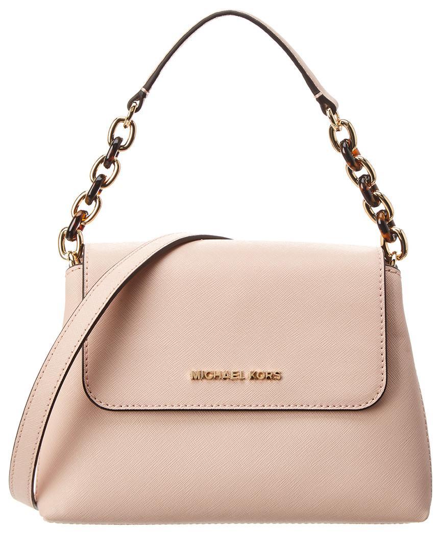 6e5d19d4488870 MICHAEL Michael Kors Michael Kors Portia Small Leather Shoulder Bag ...