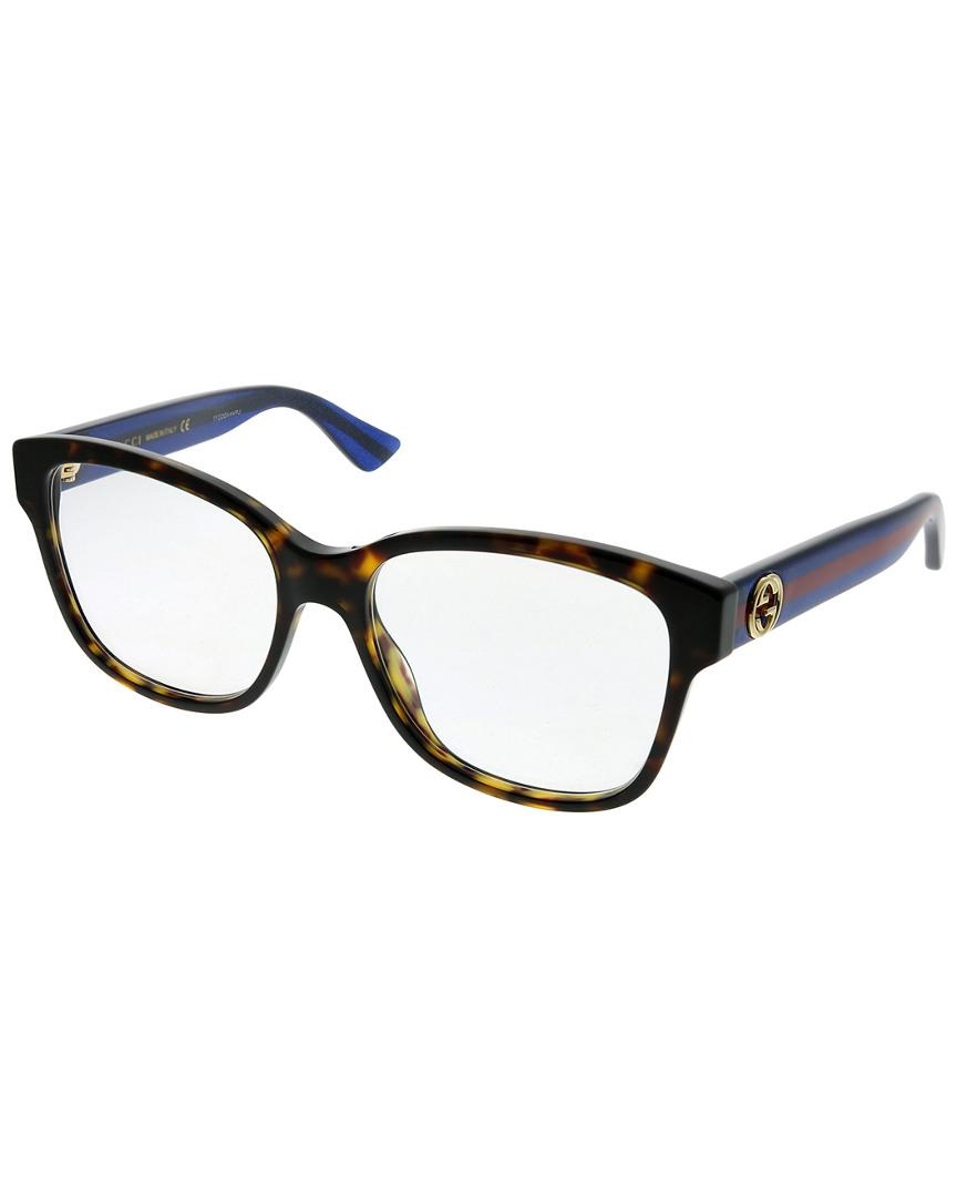 5afe63433a Gucci. Women s Square 54mm Optical Frames