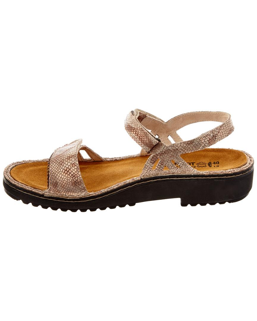 b00dbb0f46e5 Lyst - Naot Anika Leather Sandal in Natural