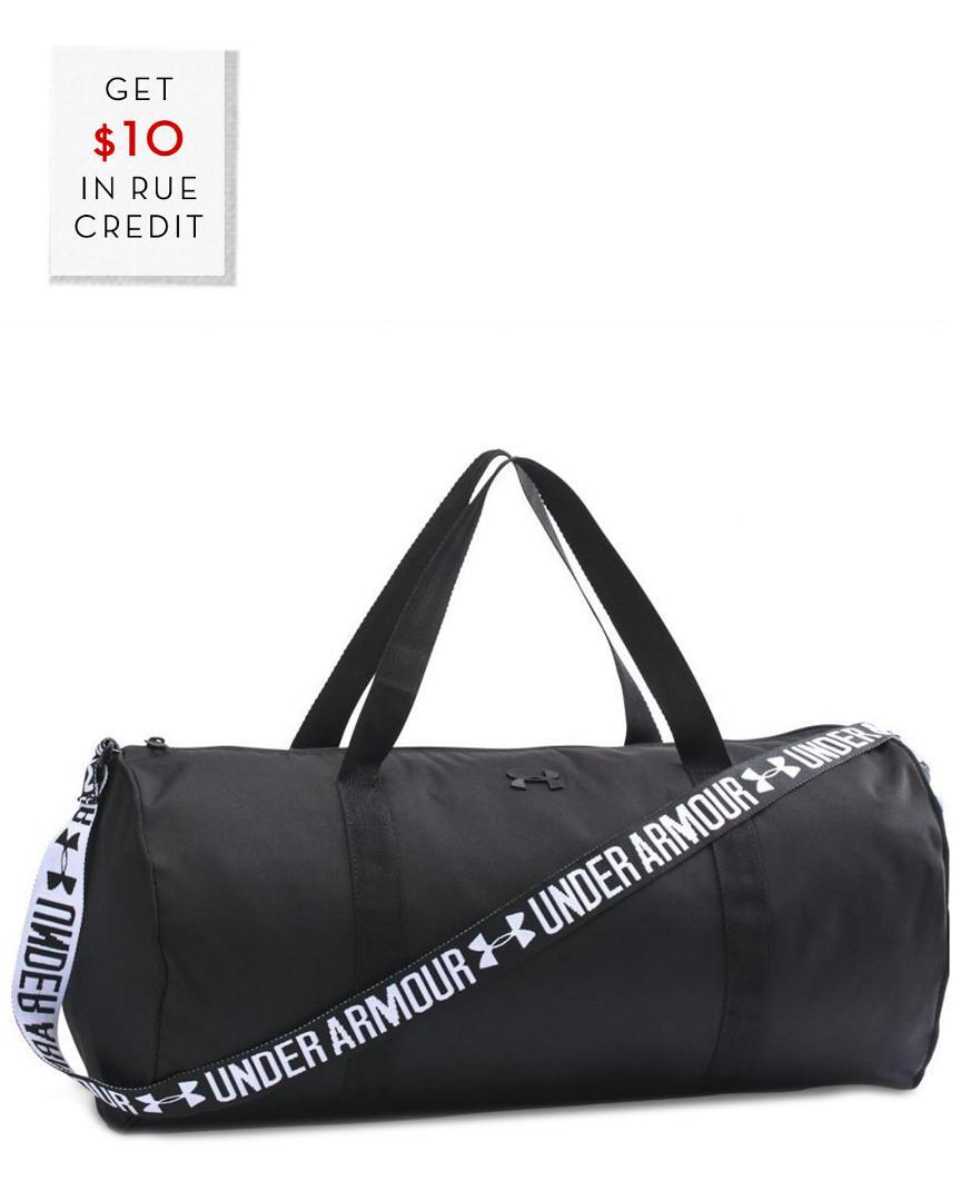 5e51b7bf5f0e Lyst - Under Armour Women s Favorite Duffle in Black