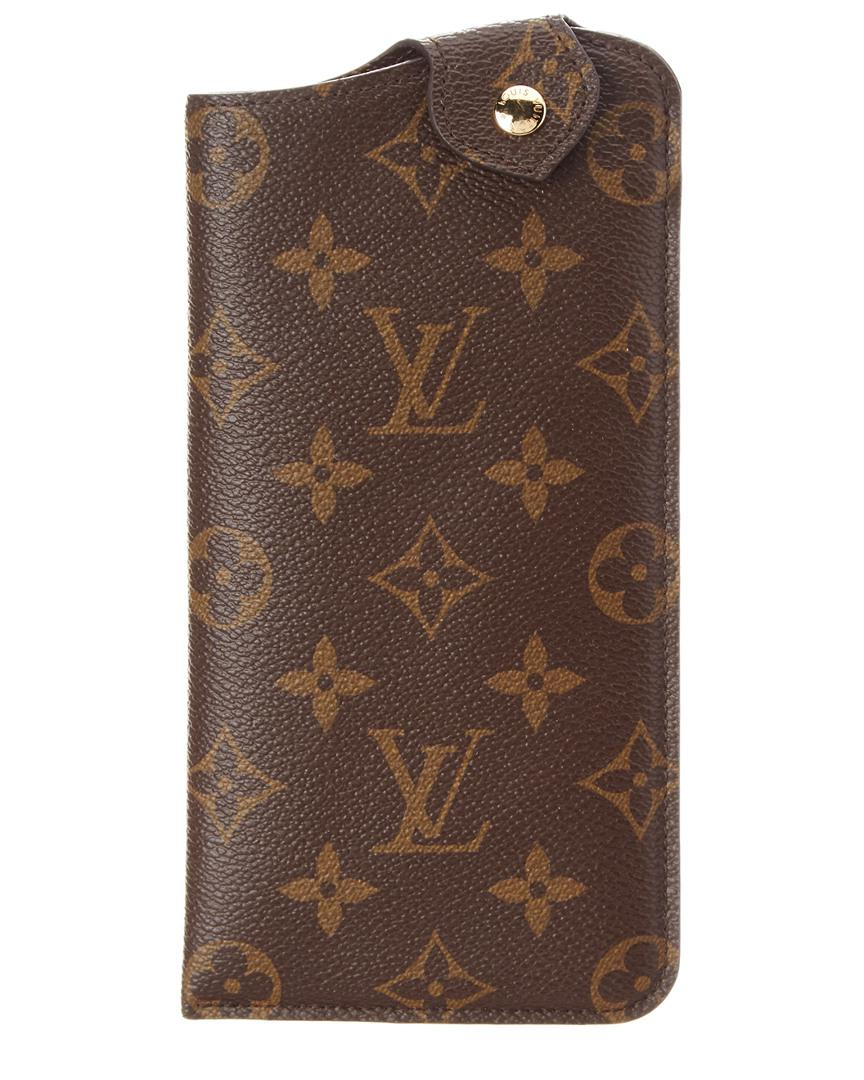 5119db0e6b9f Lyst - Louis Vuitton Monogram Canvas Etui Lunette Mm Glasses Case in ...