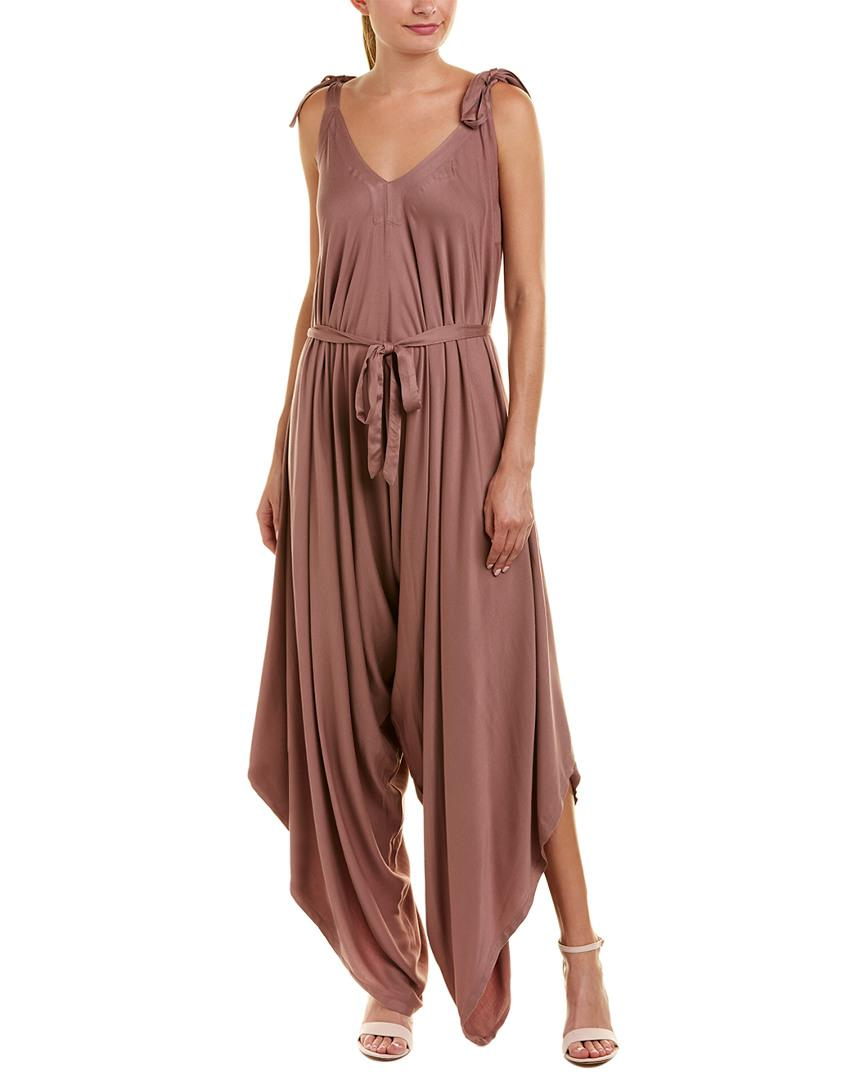 9ecb5544f2ec Lyst - Young Fabulous   Broke Yfb Clothing Brixton Jumpsuit in Brown