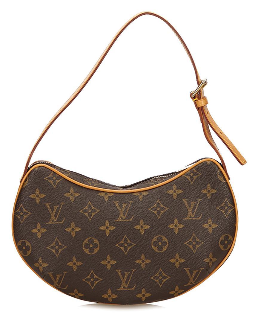 4c79ecb1c86c Lyst - Louis Vuitton Monogram Canvas Croissant Mm in Brown