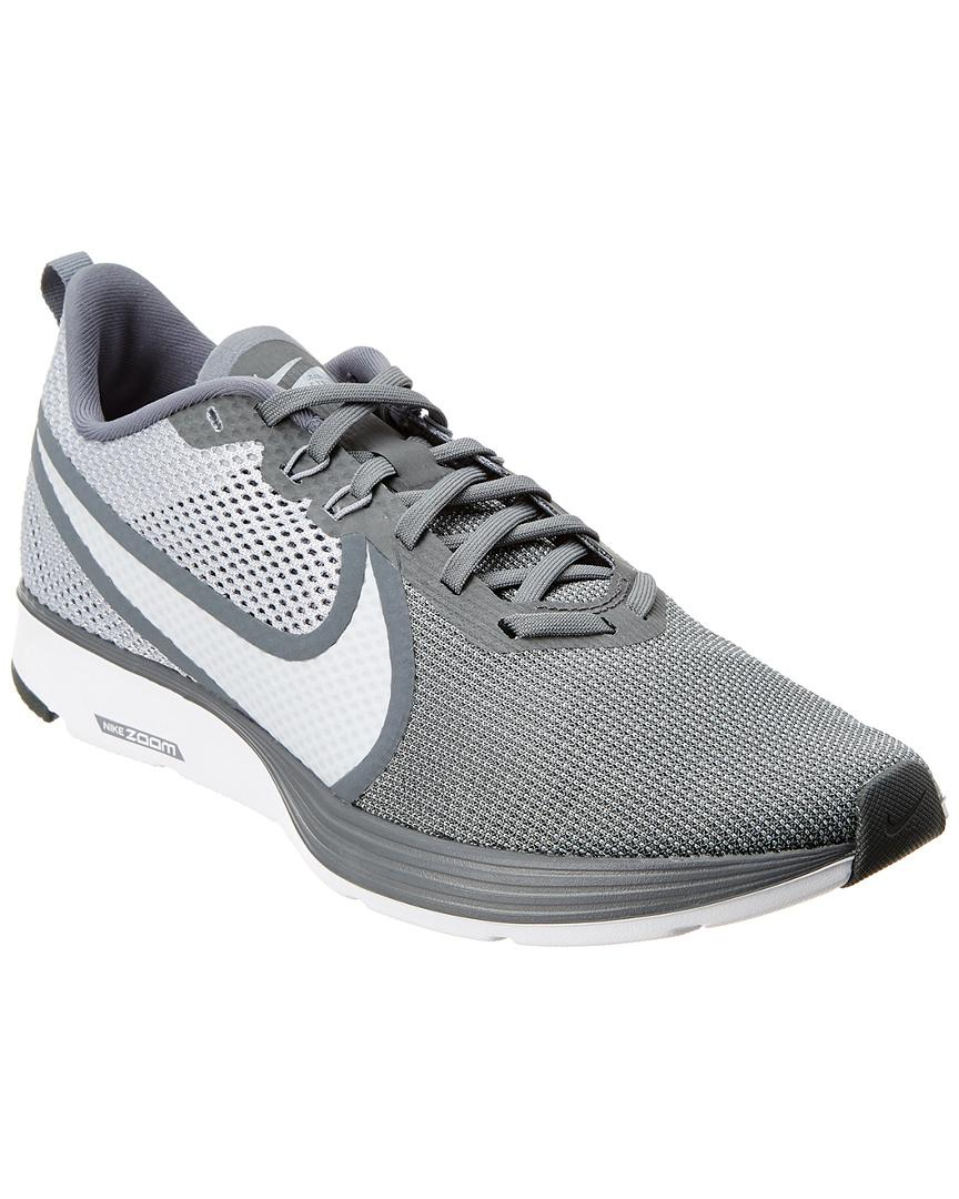 d4a7a245dc2b3e Nike Zoom Strike 2 Mesh Running Shoe in Gray for Men - Save 1% - Lyst