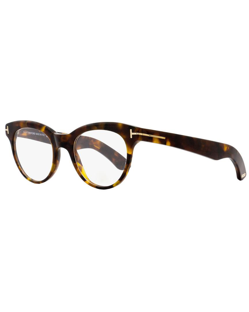 88e65c9e305f Lyst - Tom Ford Unisex Tf5378 47mm Optical Frames in Brown - Save 1.0%
