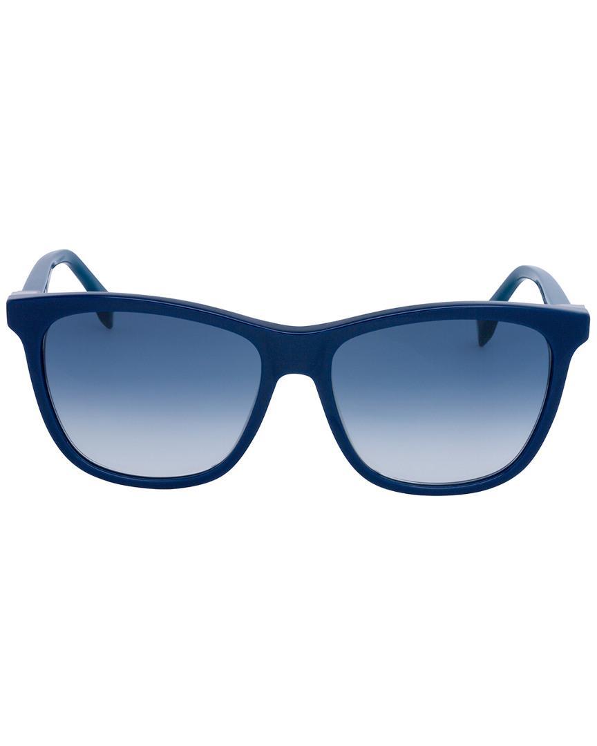 c9778ae30267 Lyst - Fendi 0199 s 55mm Sunglasses in Blue