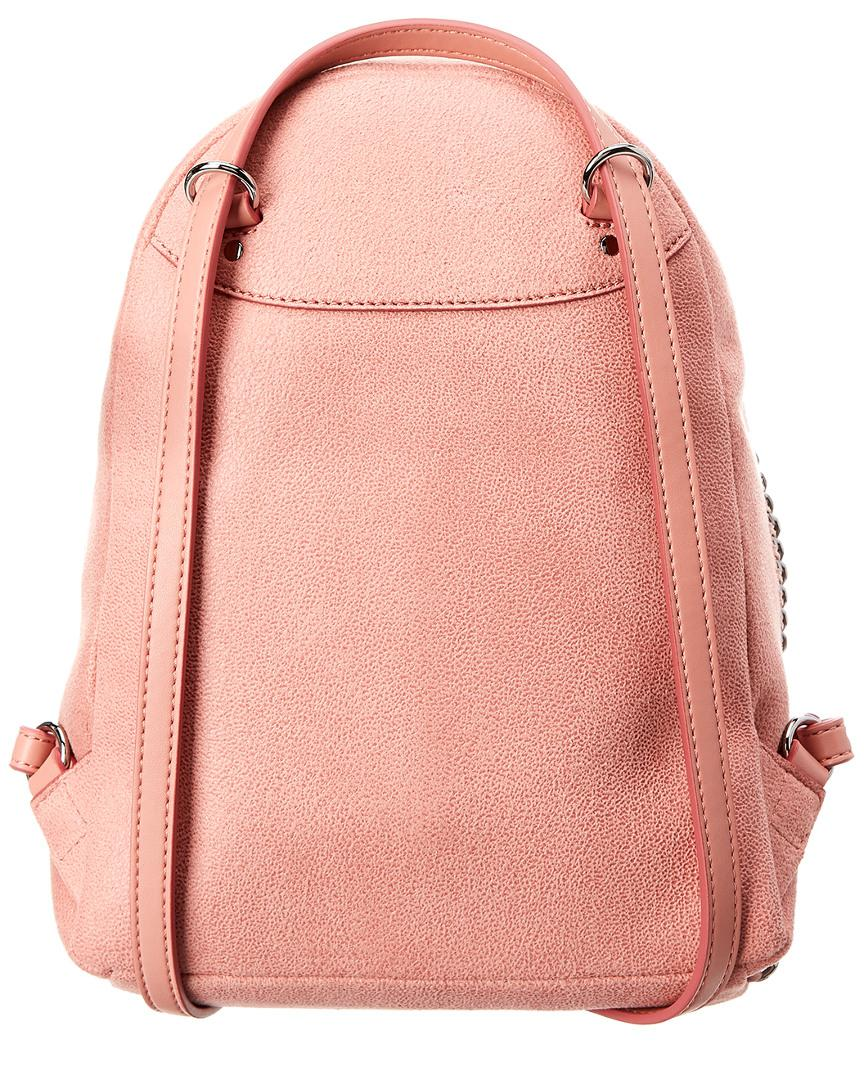 ef2b56676326 Stella McCartney Mini Falabella Shaggy Deer Backpack in Pink - Save 18% -  Lyst