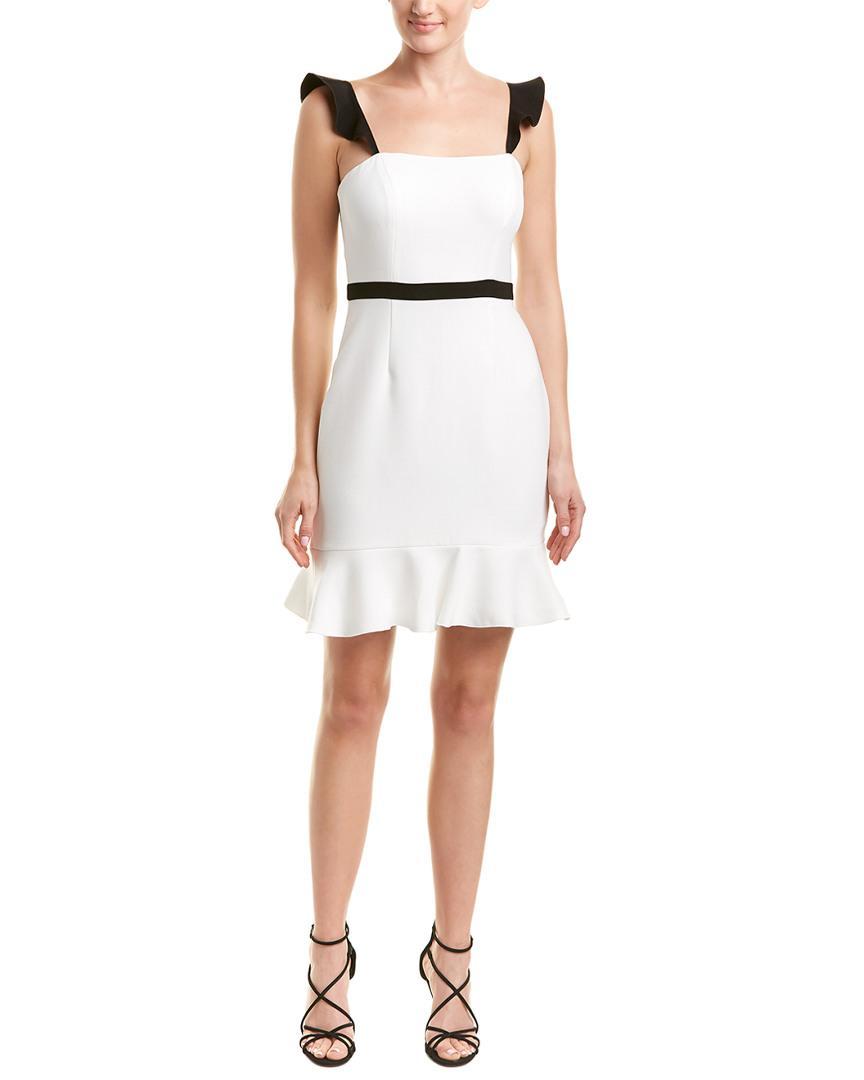 80d35b82001 Lyst - Rachel Zoe Michele Sheath Dress in White - Save 13%