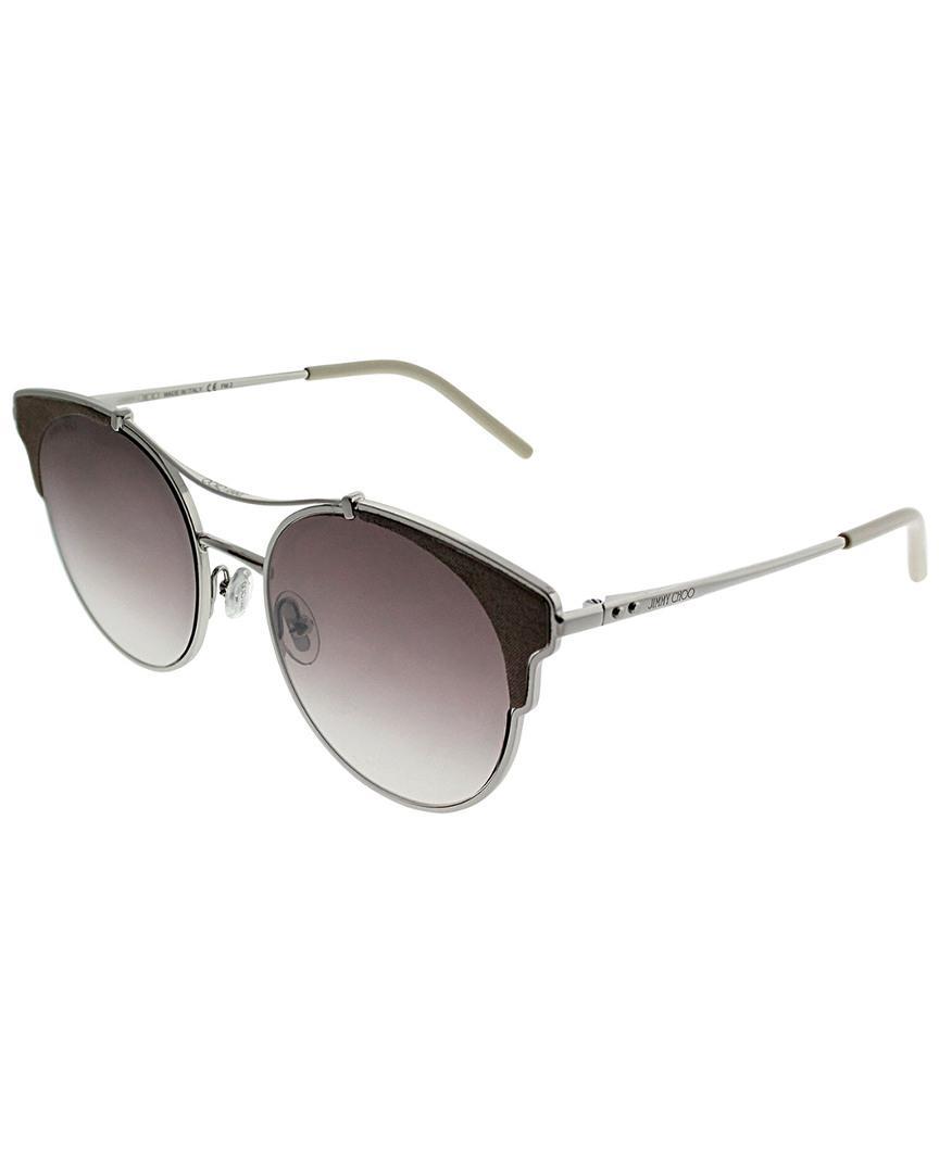 98b11e6745c Jimmy Choo Women s Jclue s 59mm Sunglasses - Lyst