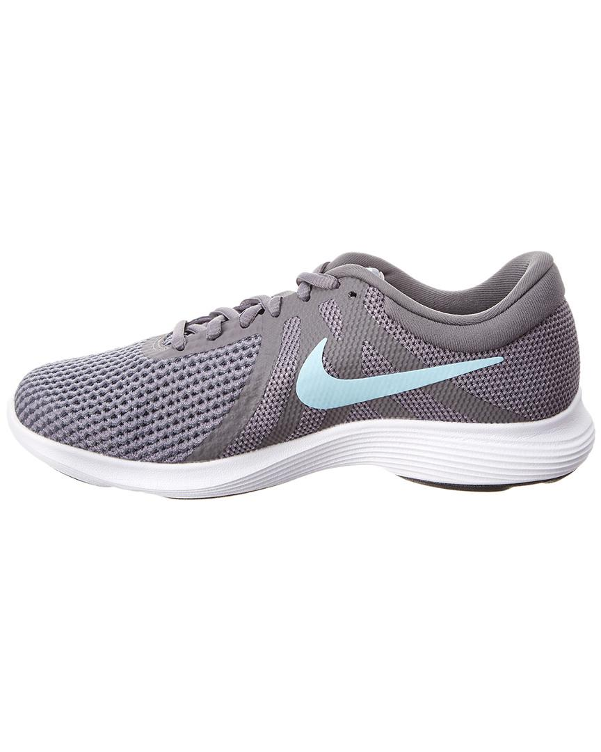 fc9c5cbc2abd7 Nike Revolution 4 Running Shoe in Gray - Lyst