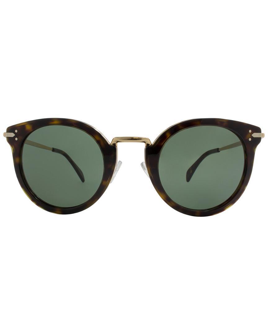 8eccef42b81 Céline Cl 41373 s-ant 85 48mm Sunglasses in Green - Lyst