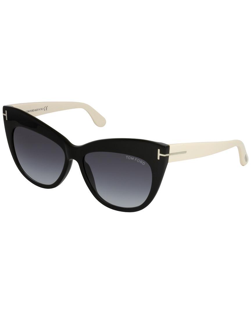 df91396ffe Tom Ford - Black Nika 56mm Sunglasses - Lyst. View fullscreen