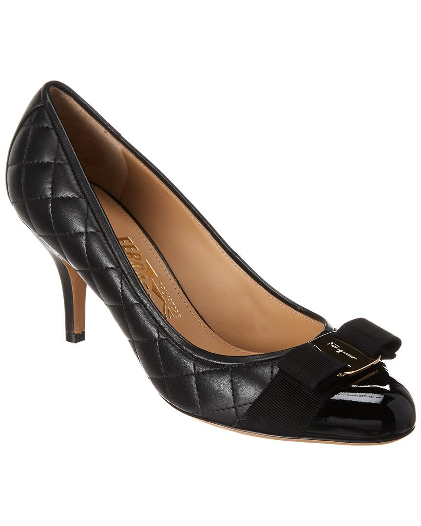 b76e2c9dc3a Women's Black Carla 70 Quilted Leather Pump