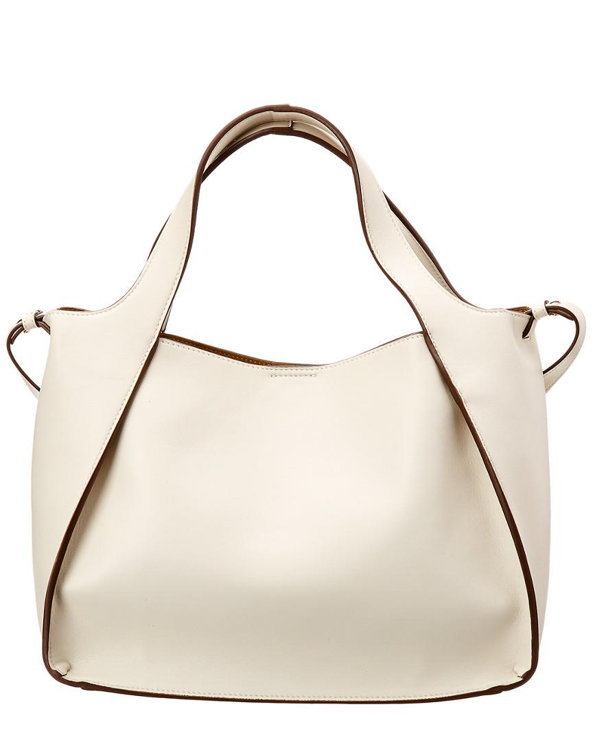 60402e7a66253 Lyst - Stella McCartney Perforated Logo Tote in White - Save  0.1666666666666714%