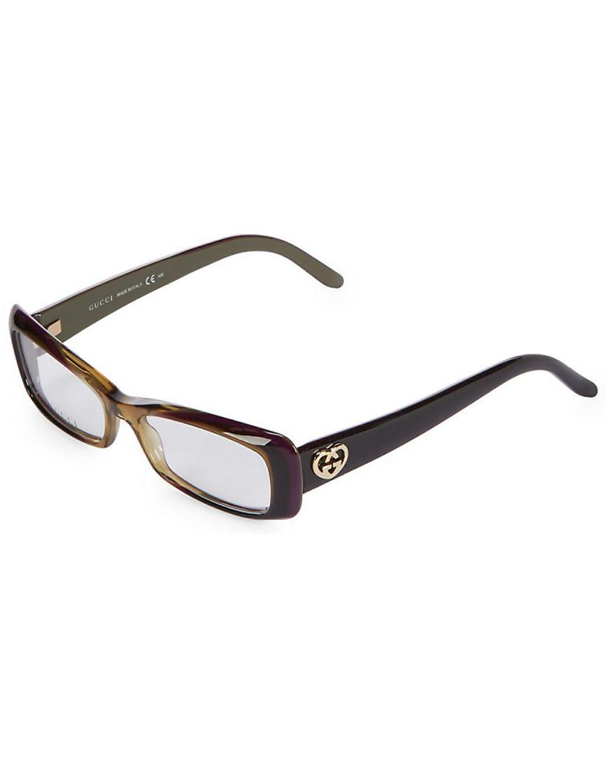 5c7f728a9909 Lyst - Gucci GG3516 Mm Optical Frames in Brown