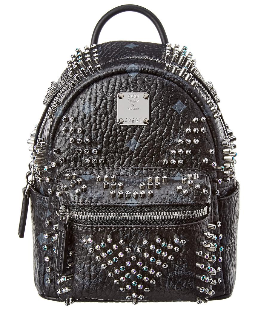 4b61d7e2158a Lyst - MCM Stark Bebe Boo Mini Backpack in Black