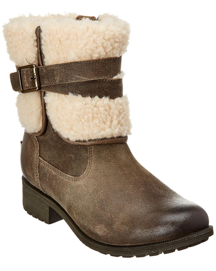 4b275855cd3 Lyst - Ugg Blayre Iii Waterproof Leather Boot in Gray