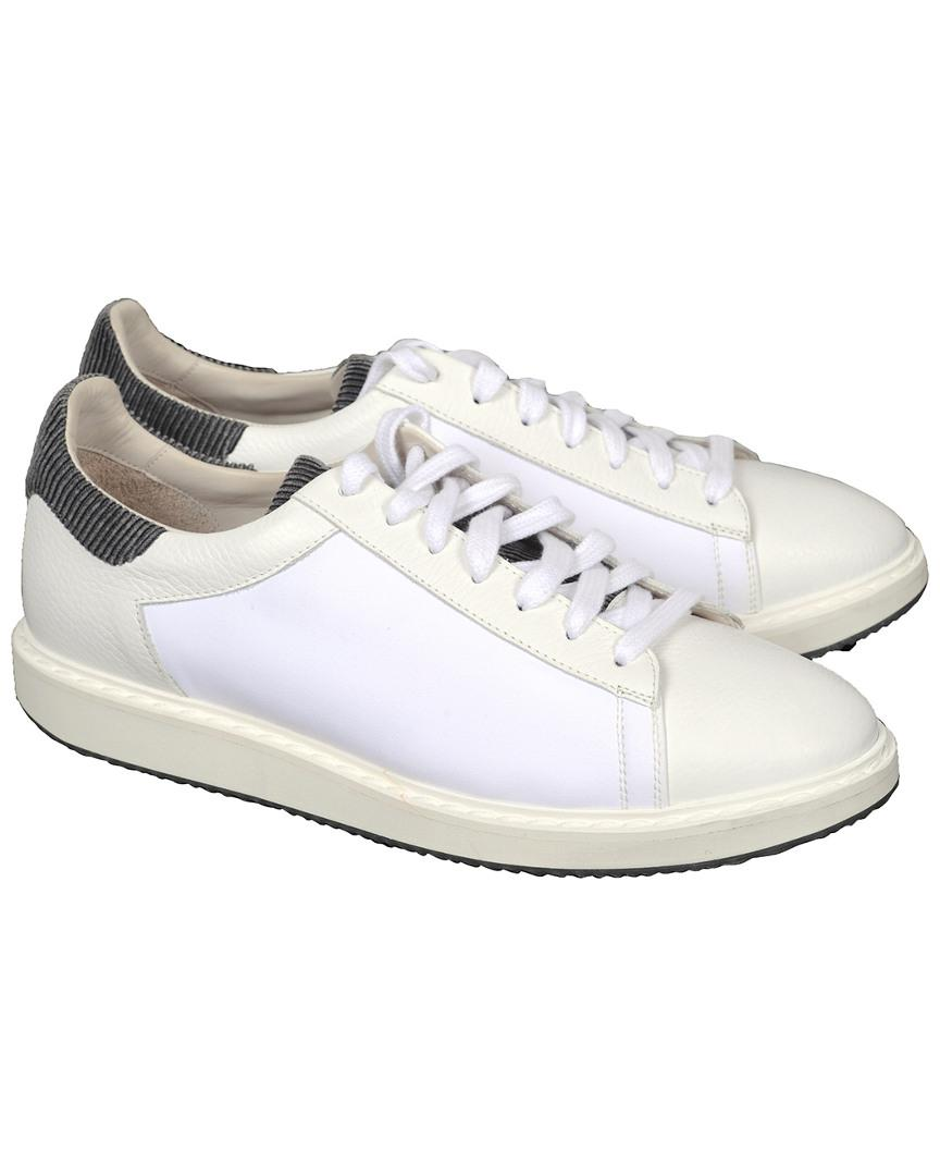 f6e8d212e3ef Brunello Cucinelli White Sneaker in White for Men - Lyst