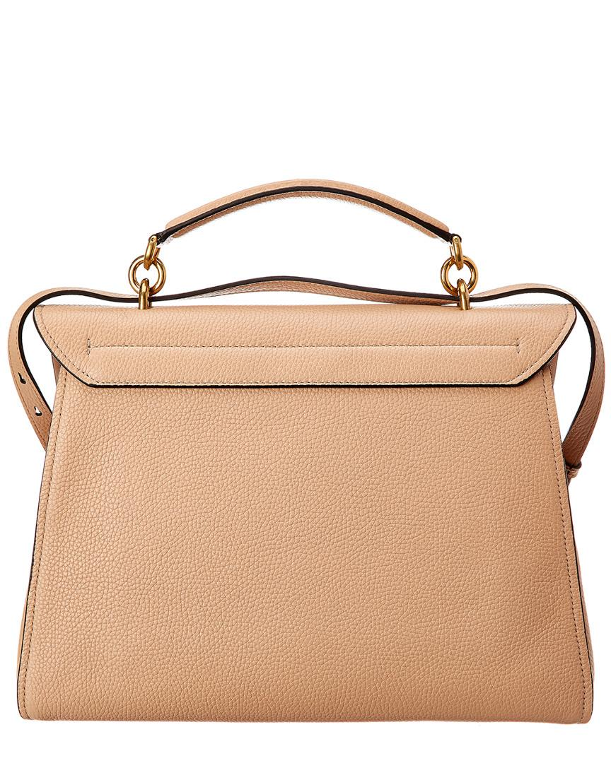 41ec0c2948e2 Lyst - Ferragamo Margot Stachel in Natural