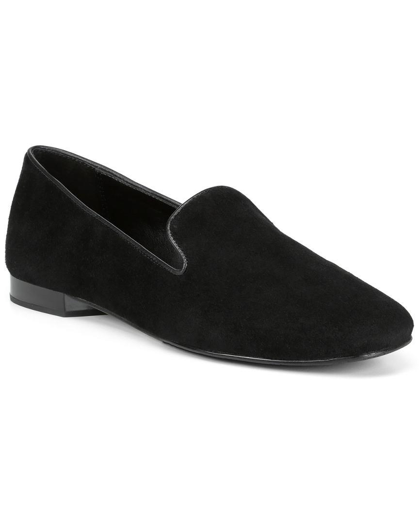 21352cfaf7c Donald J Pliner Hapi Suede Loafer in Black - Save 22% - Lyst