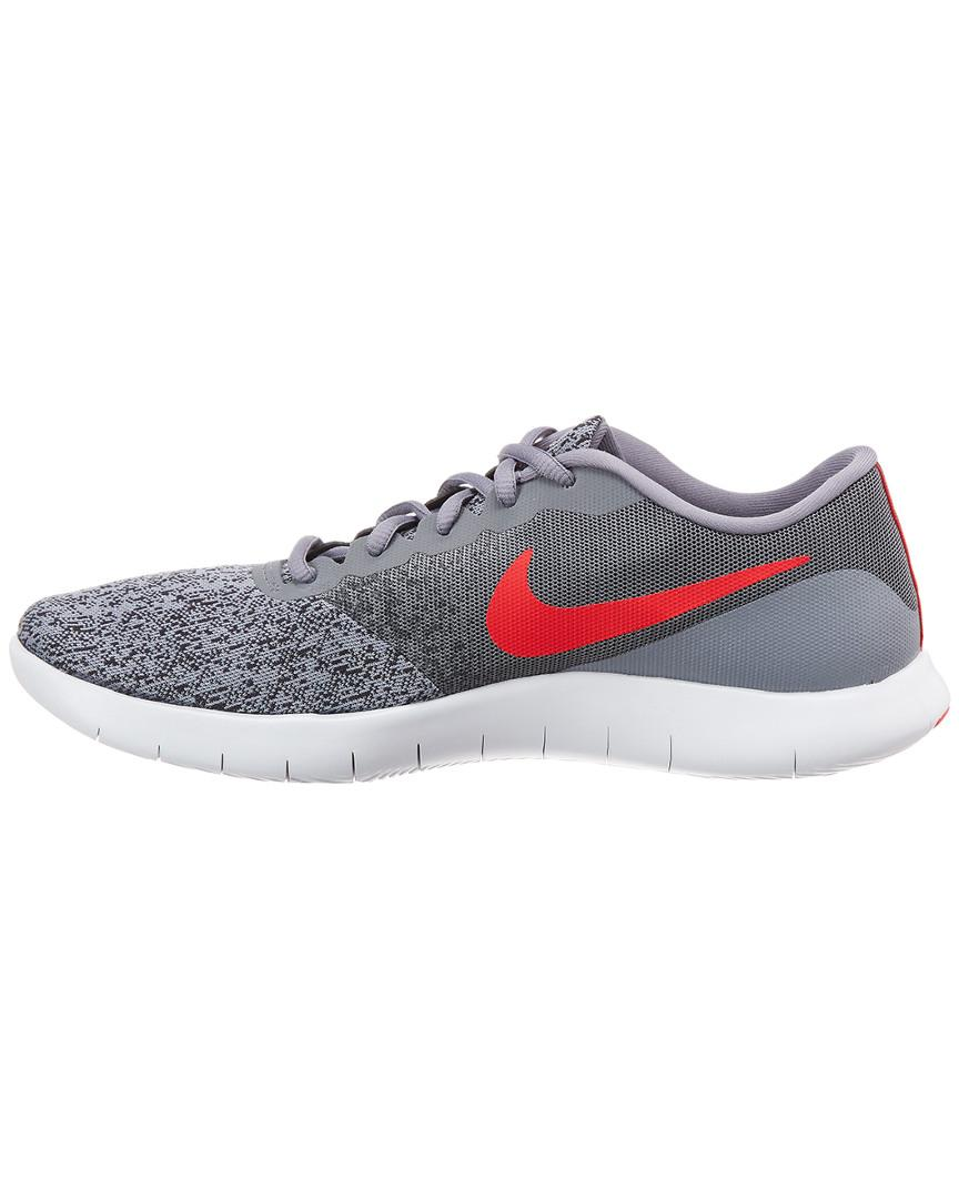 6d154fbd3c737 Lyst - Nike Flex Contact Mesh Running Shoe in Gray for Men - Save 12%