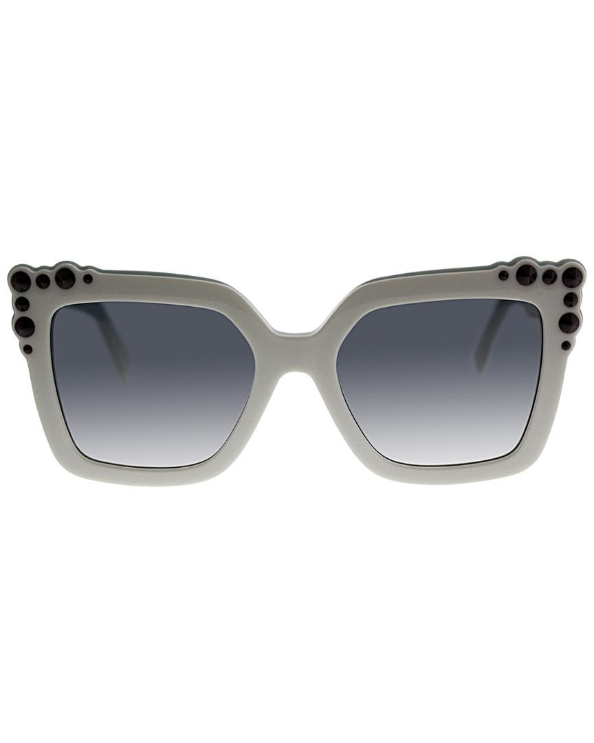 fa7fdeff17fa Fendi Ff0260 s 52mm Sunglasses in Gray - Lyst
