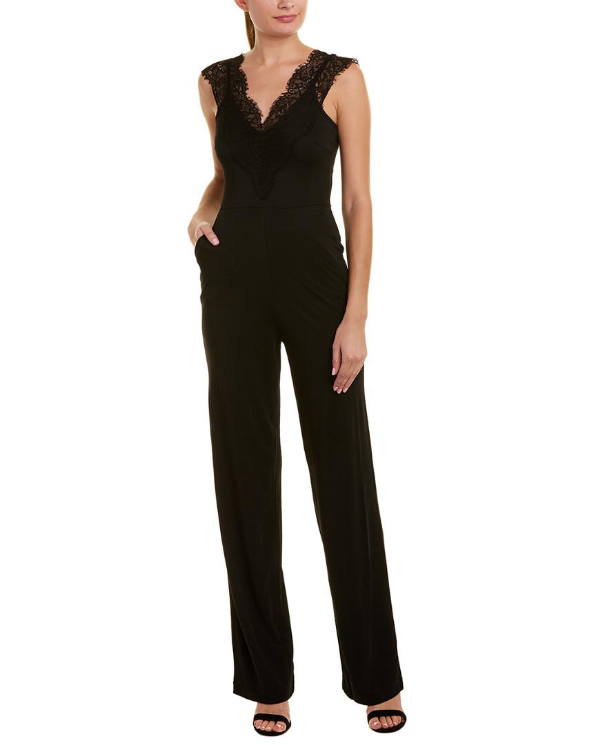 9df62b59f3f French Connection - Black Vivien Jumpsuit - Lyst. View fullscreen