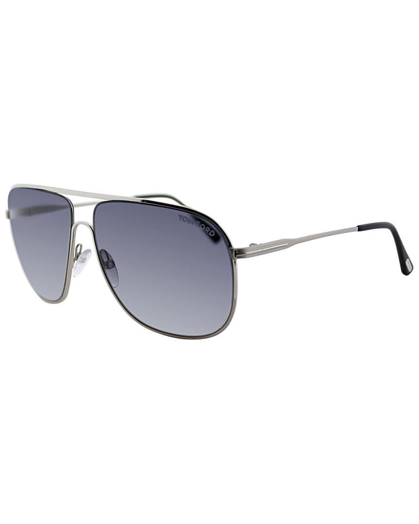 a346038485c Tom Ford Men s Dominic Sunglasses in Blue for Men - Lyst