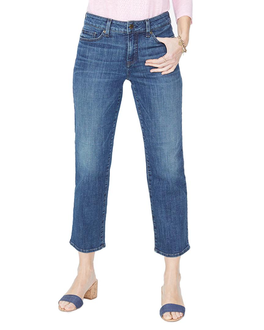 0043062c38c00f NYDJ Jenna St. Ankle Cut in Blue - Lyst