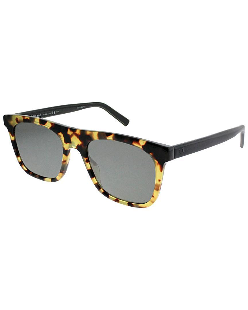 51c5db424a Dior 51mm Sunglasses in Black - Lyst