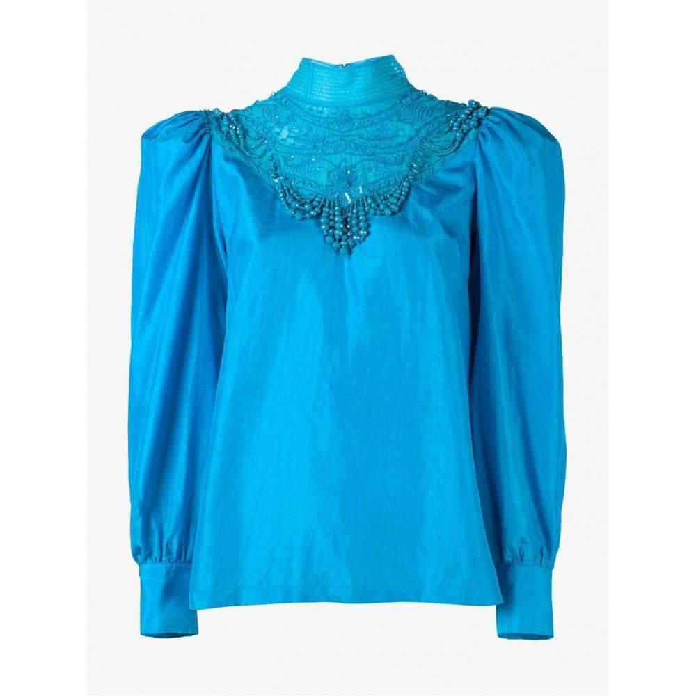 14134309fb418 Lyst - Dries Van Noten - Coxy Embellished Blouse - Women - Silk - 34 ...