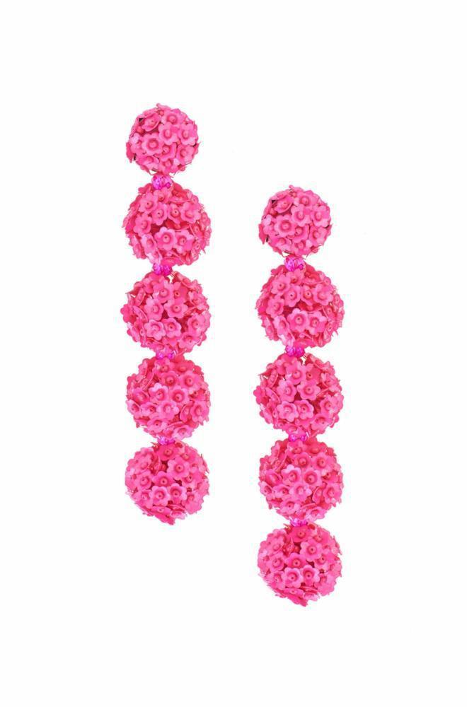 Fleur Bouquet earrings - Pink & Purple Sachin & Babi FJPtWnhuiM