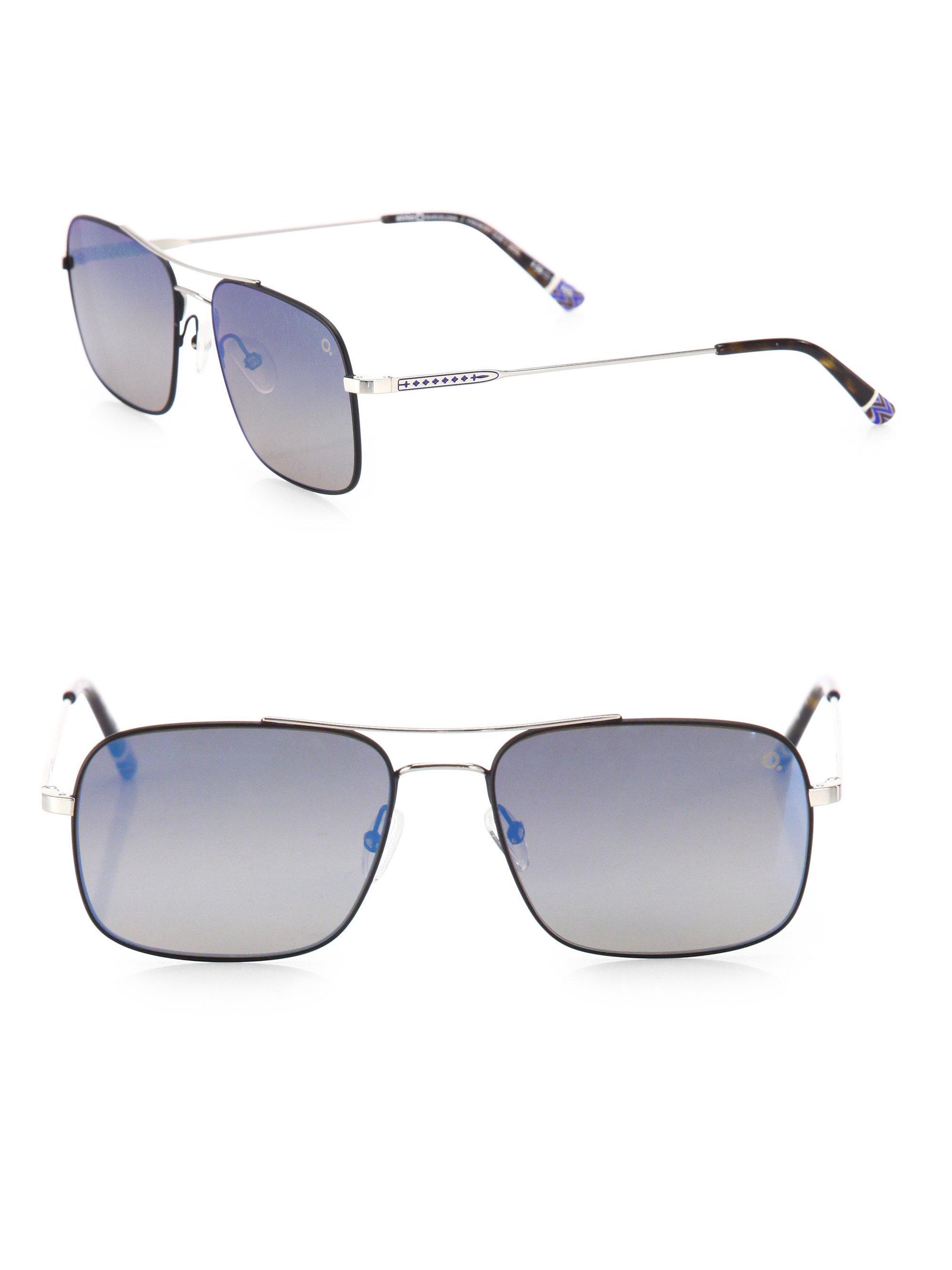 0fa63f7e31ac97 Etnia Barcelona Vintage Fremont Sun 56mm Rectangular Sunglasses in ...