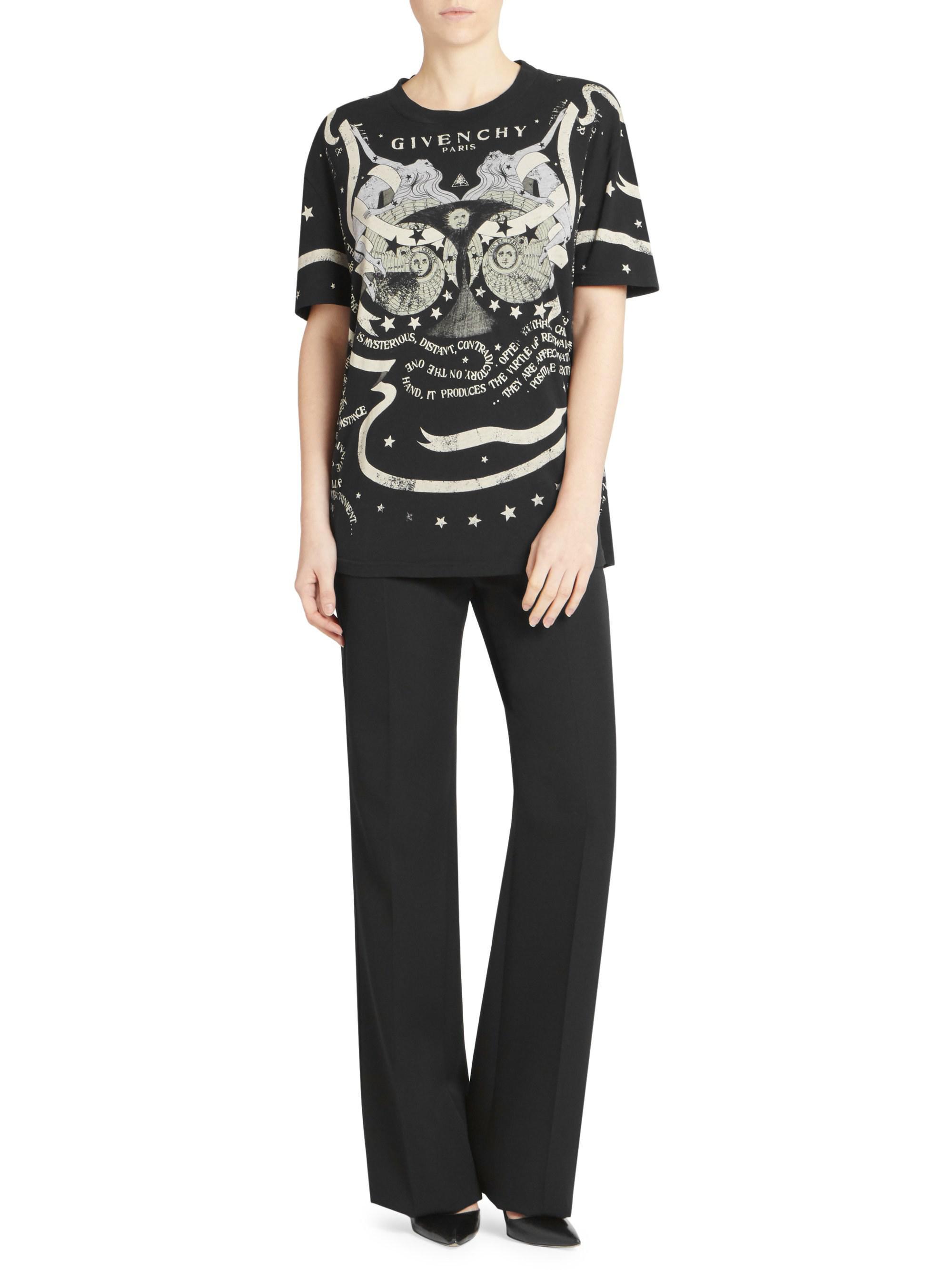 5e7b6d996 Givenchy Gemini T-shirt in Black - Lyst