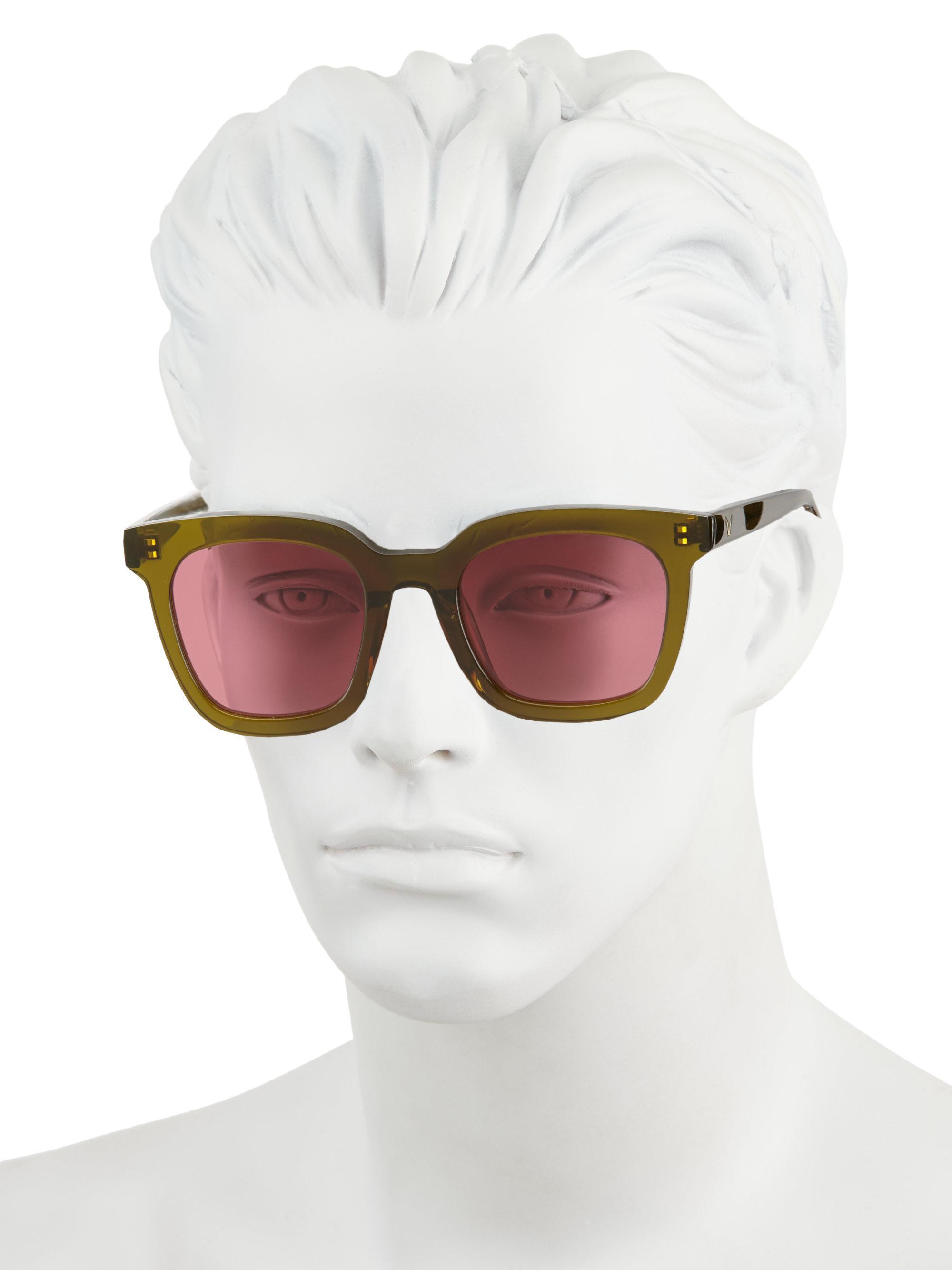 c7185d20169c Lyst - Gentle Monster Finn Retro Square Sunglasses in Pink