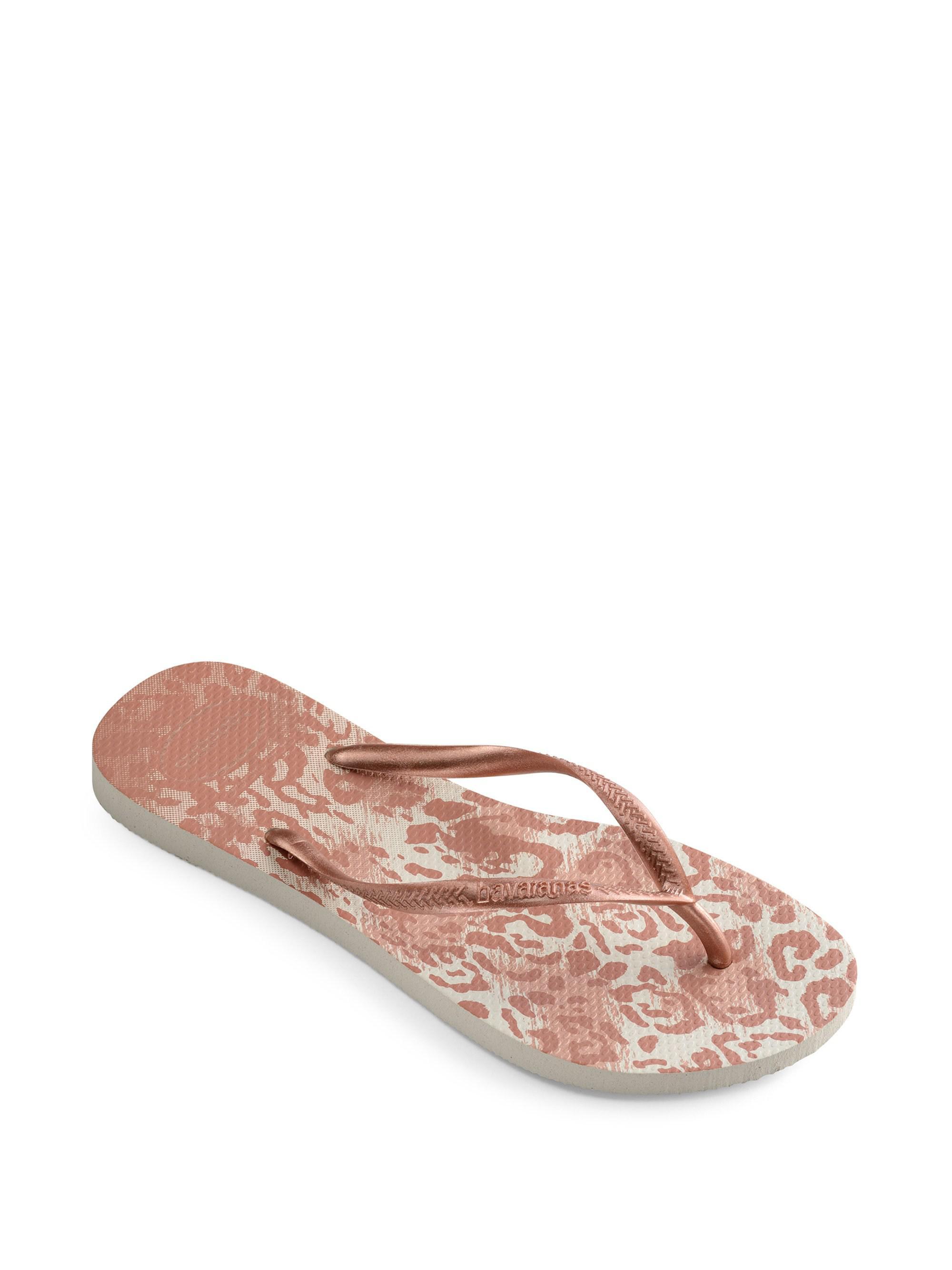 1f0f7697352c Havaianas - Pink Slim Animal Sandal - Lyst. View fullscreen