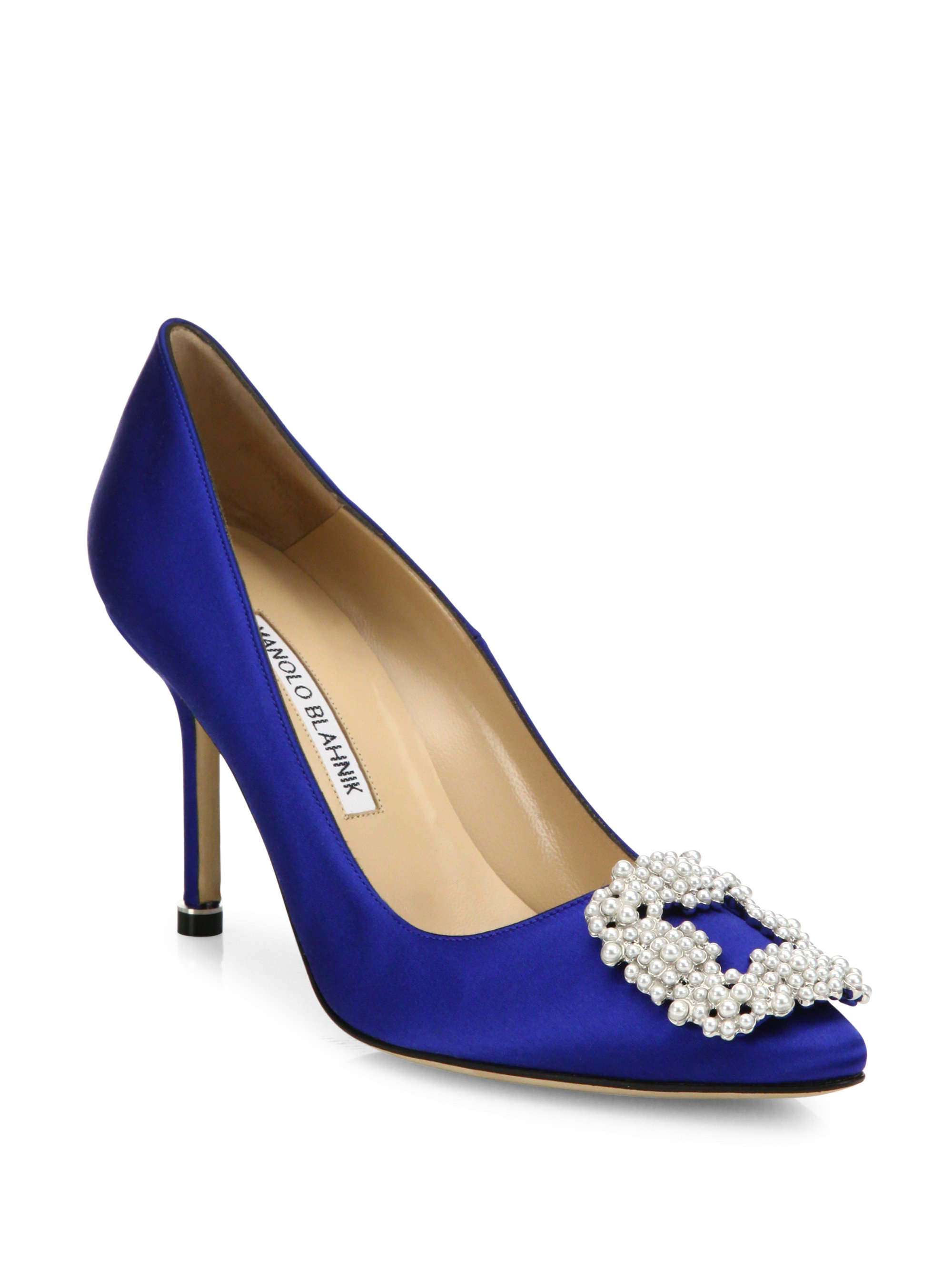 608799aa2 Gallery. Previously sold at: Saks Fifth Avenue · Women's Manolo Blahnik  Hangisi Shoes