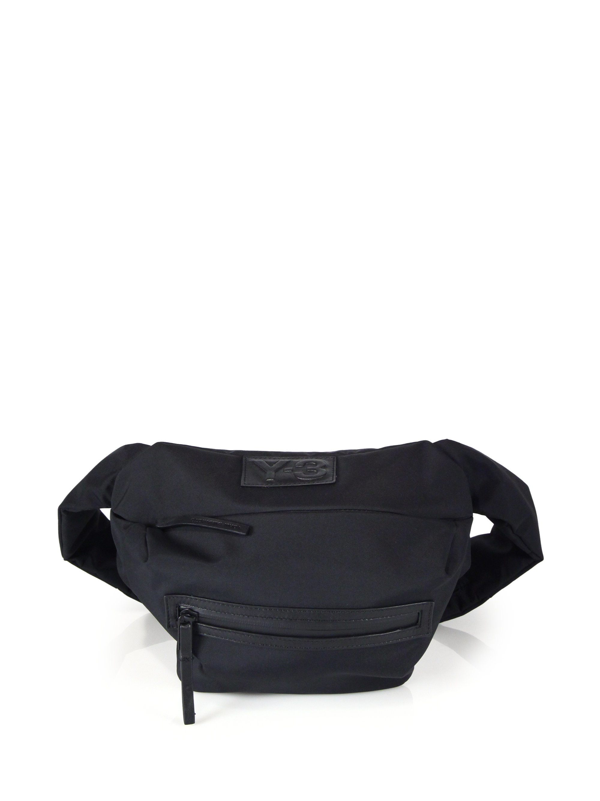 c625aaf9aa Lyst - Y-3 Qasa Bum Bag in Black for Men