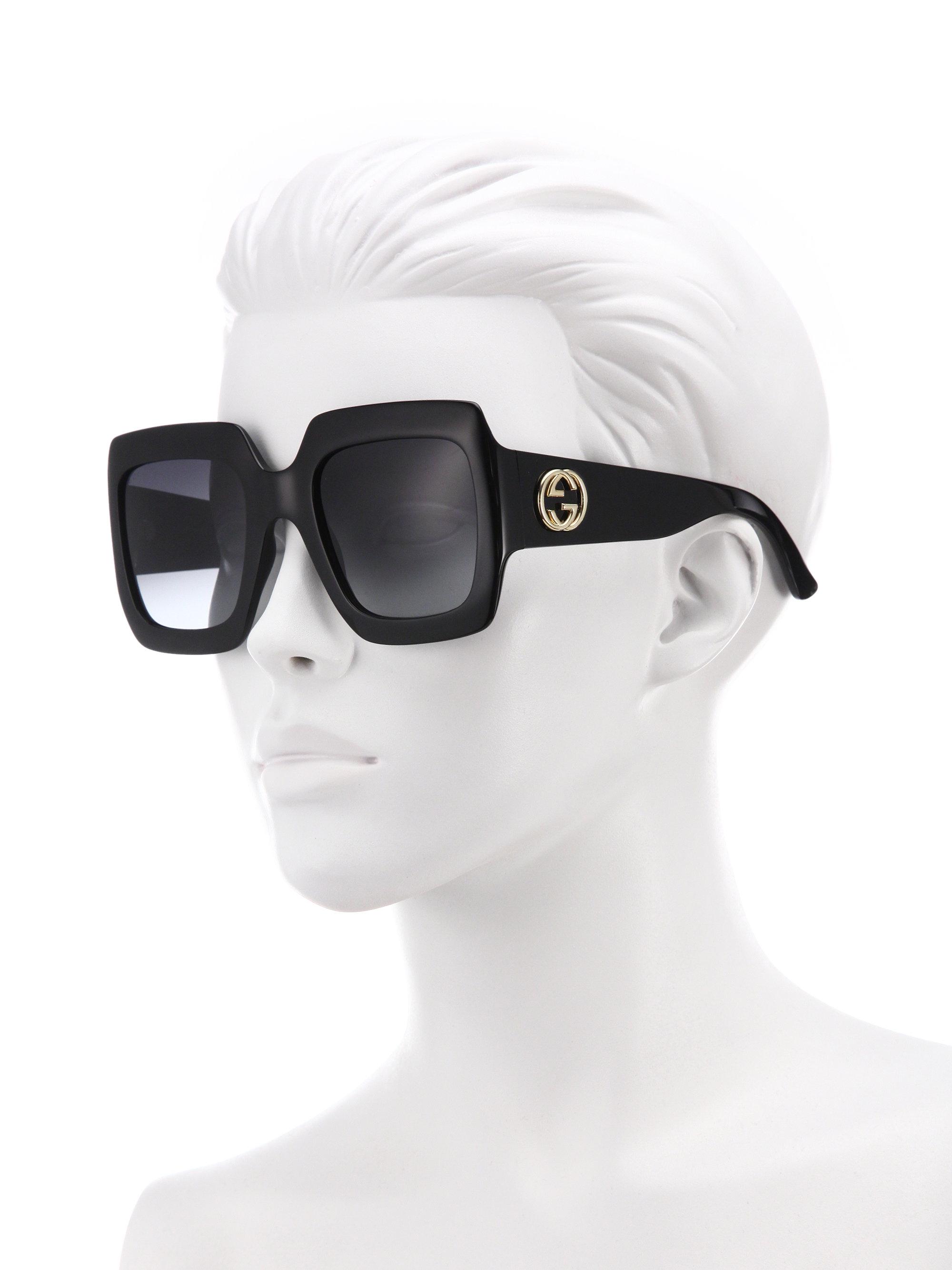 gucci 57mm square sunglasses. gallery gucci 57mm square sunglasses