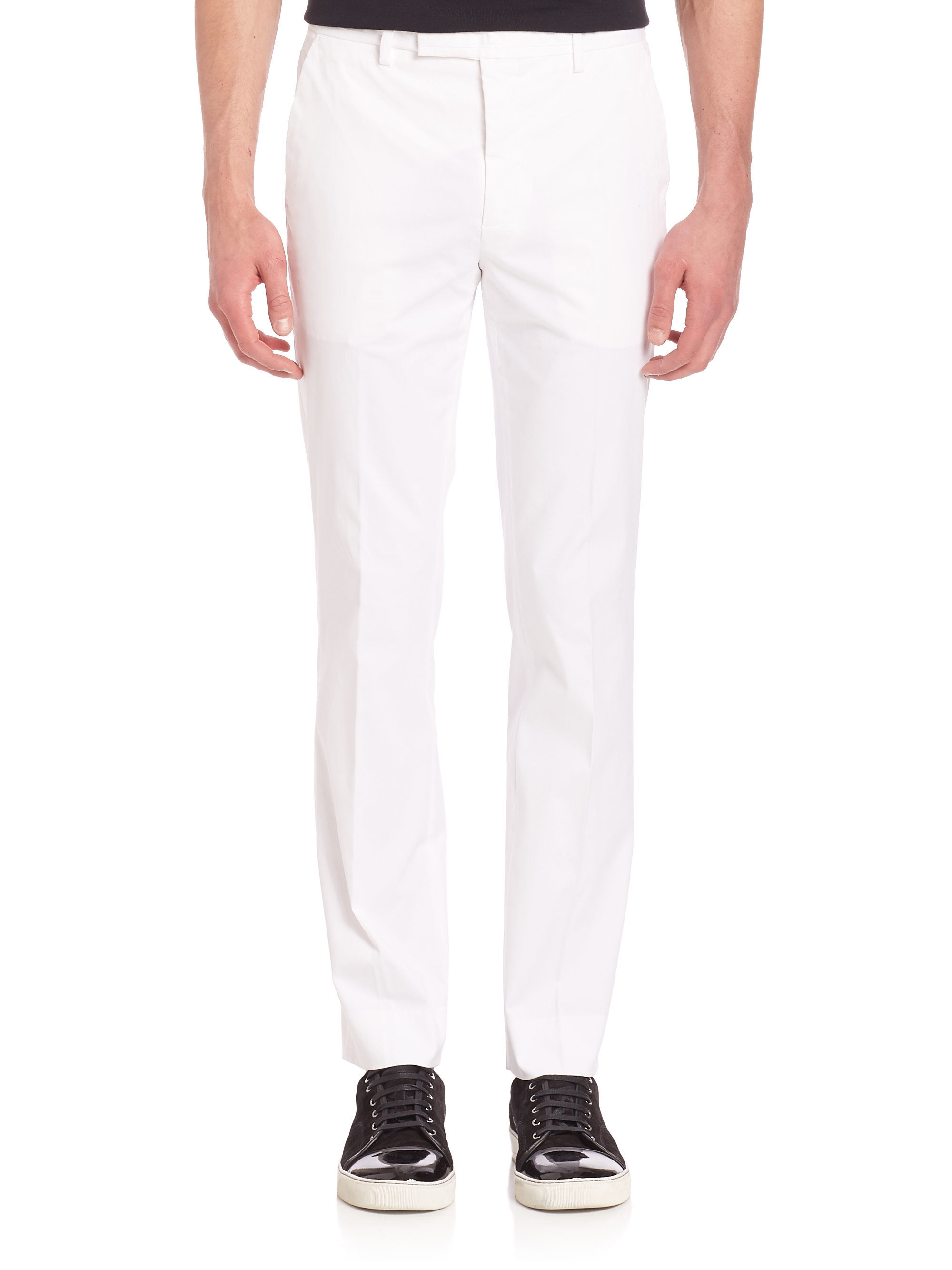 Lyst G Fore Solid Straight Leg Pants In White For Men