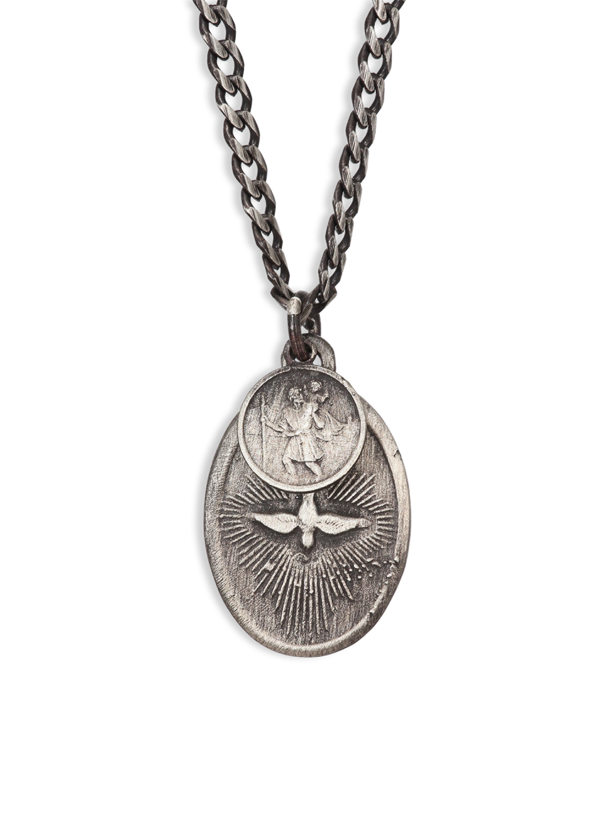 dove silver necklace miansai pendant modesens product