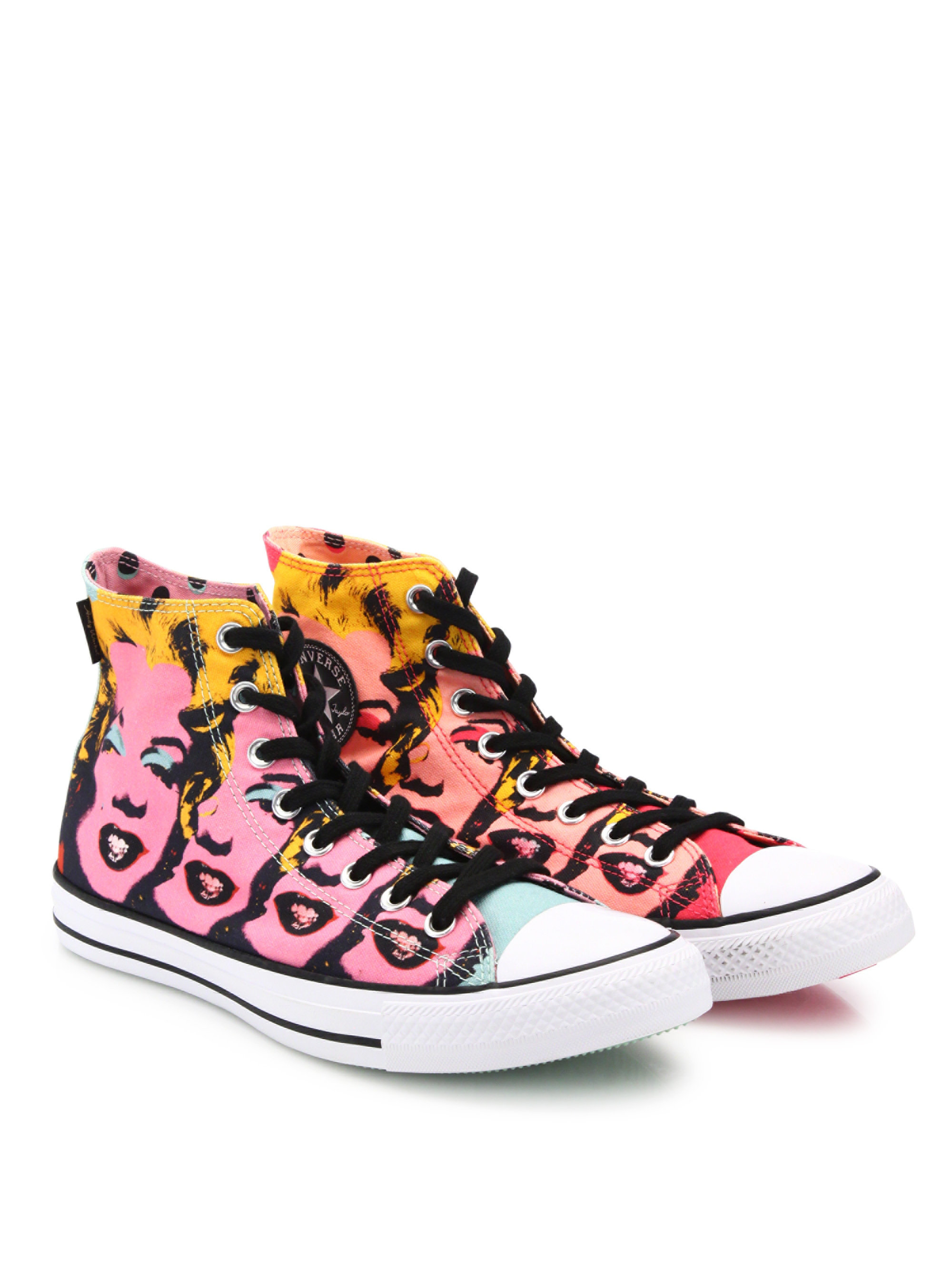 d3517dcfde116f Lyst - Converse Chuck Taylor Marilyn Monroe High-top Sneakers