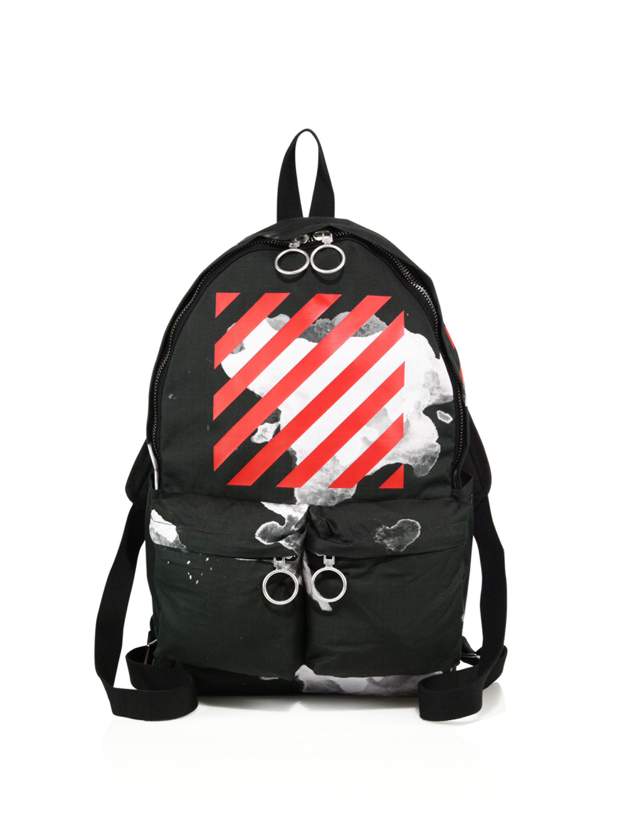94c7248e6870 Mens Blue Printed Cotton-canvas Tote Bag uk  Lyst - Off-White CO Virgil  Abloh Paint Splashed Backpack in the best attitude ca7a0 ...