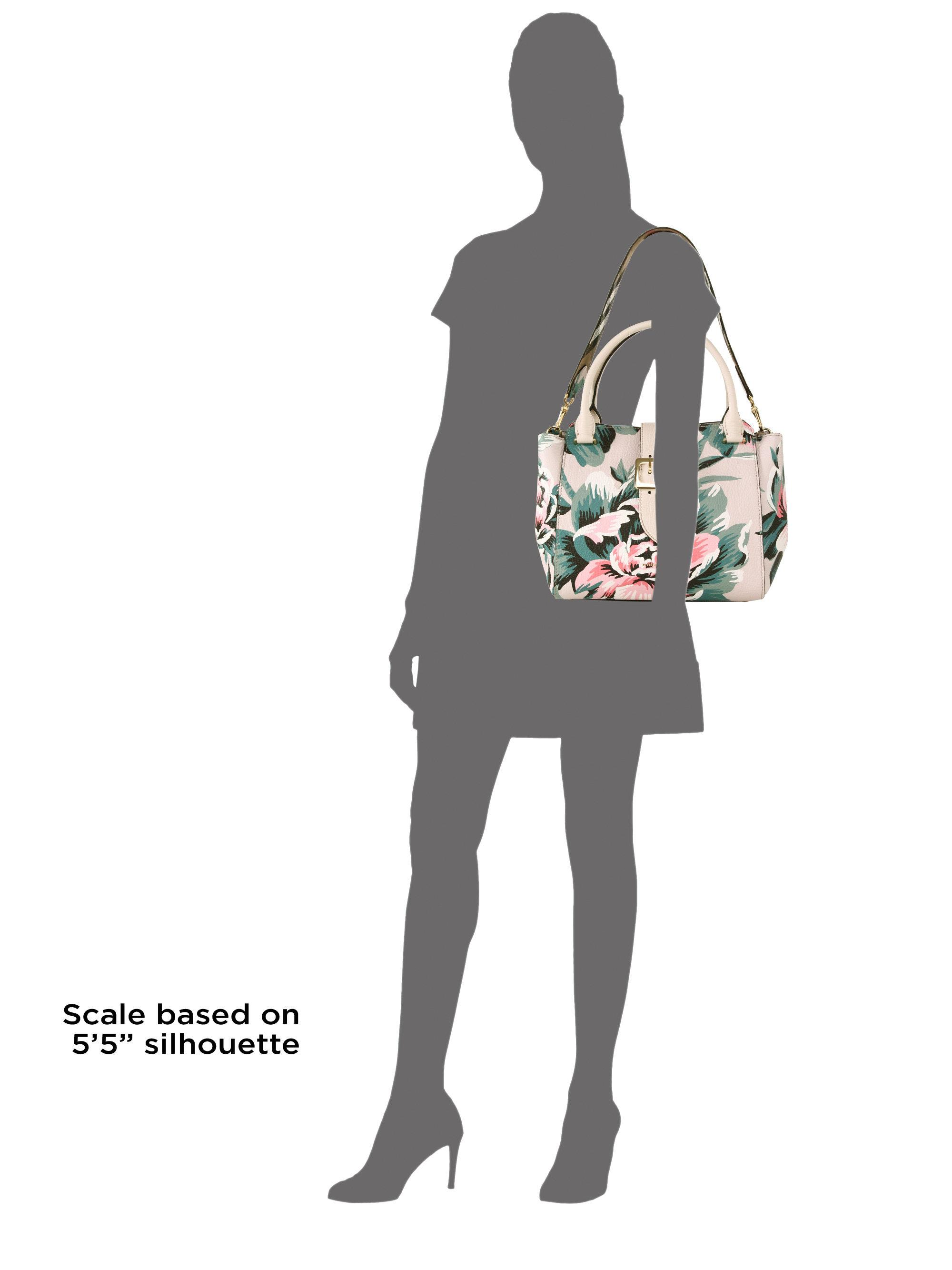 Burberry Floral Tote