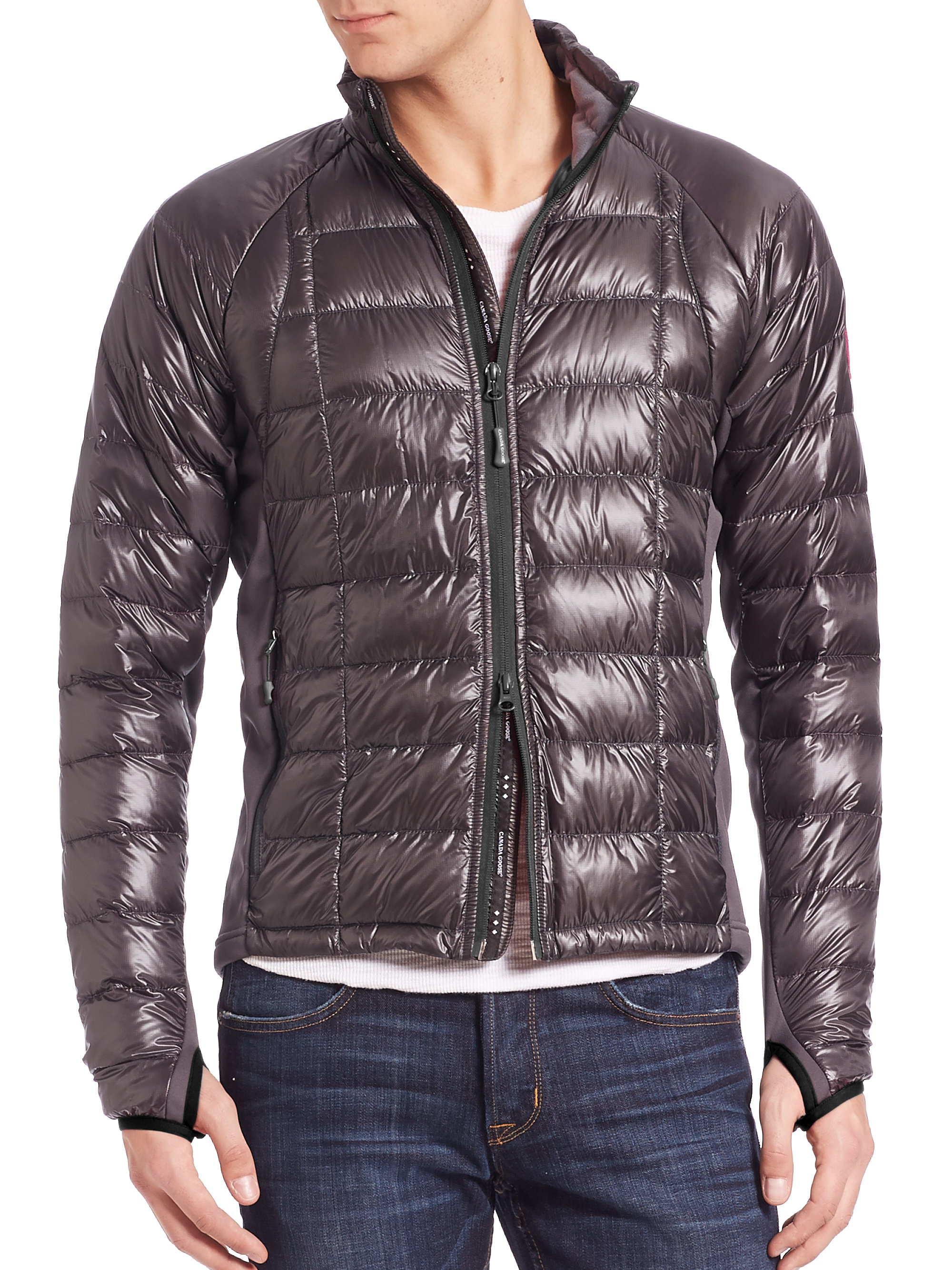 Canada goose Hybridge Lite Jacket in Gray for Men | Lyst - photo#37